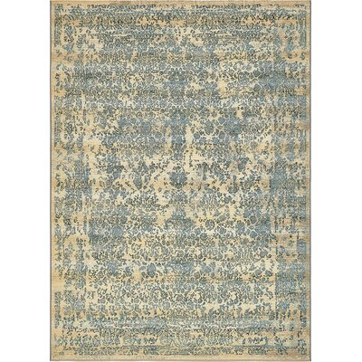 Ile Beige Indoor/Outdoor Area Rug Rug Size: Rectangle 22 x 3
