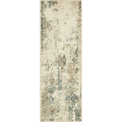 Forcalquier Tibetan Beige Area Rug Rug Size: Runner 2 x 6