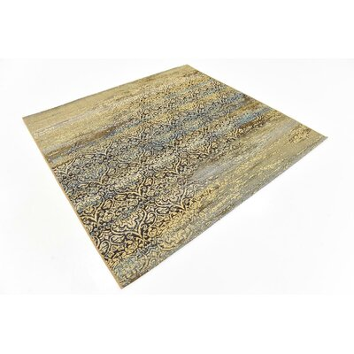 Jayceon Beige Indoor/Outdoor Area Rug Rug Size: Square 6