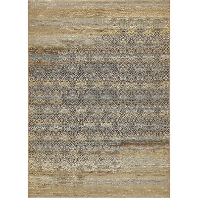 Jamie Beige Abstract Indoor/Outdoor Area Rug Rug Size: Rectangle 10 x 12