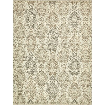 Forcalquier Southwestern Beige Indoor Area Rug Rug Size: Rectangle 8 x 10