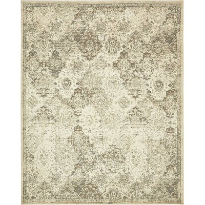Pauley Beige Indoor Area Rug Rug Size: 9' x 12'