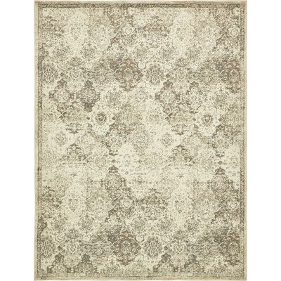 Pauley Beige Indoor Area Rug Rug Size: 8' x 10'