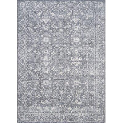 Montelimar Gray/Ivory Area Rug Rug Size: 10 x 14