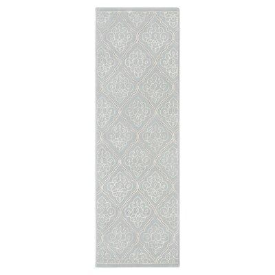 Argens Grey Rug Rug Size: Runner 26 x 8