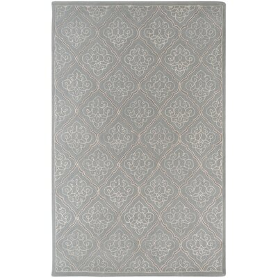 Argens Grey Rug Rug Size: Rectangle 5 x 8