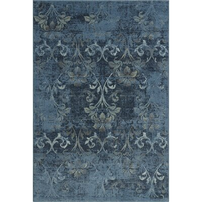 Charroux Blue Area Rug Rug Size: Rectangle 33 x 51