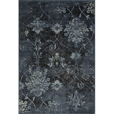 Charroux Denim Area Rug Rug Size: Rectangle 411 x 75
