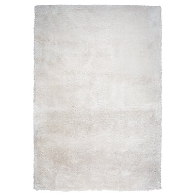 Delroy Hand-Tufted Cream Indoor Area Rug Rug Size: 7 x 10