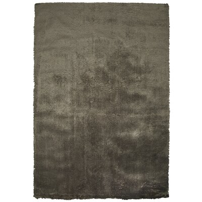 Delroy Hand-Tufted Brown Indoor Area Rug Rug Size: 7 x 10