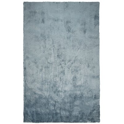 Delroy Hand-Tufted Blue Area Rug Rug Size: Rectangle 5 x 7