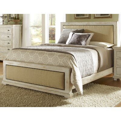 Assya Upholstered Panel Bed Size: King