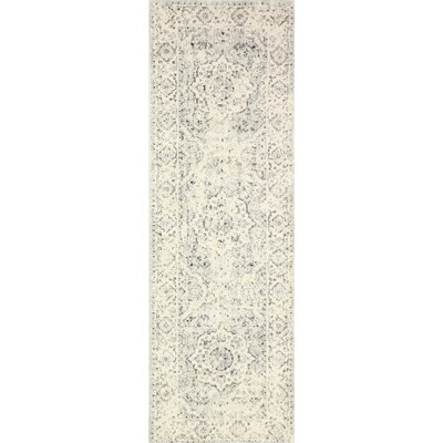 Silver Area Rug Rug Size: Runner 26 x 8
