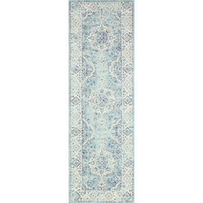 Amhurst Multi-Colored Area Rug Rug Size: Runner 26 x 8