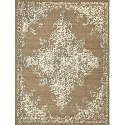 Forcalquier Brown Area Rug Rug Size: Rectangle 4 x 6