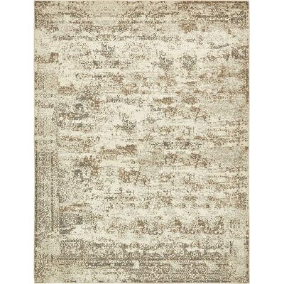 Pauley Cream Area Rug Rug Size: 9 x 12