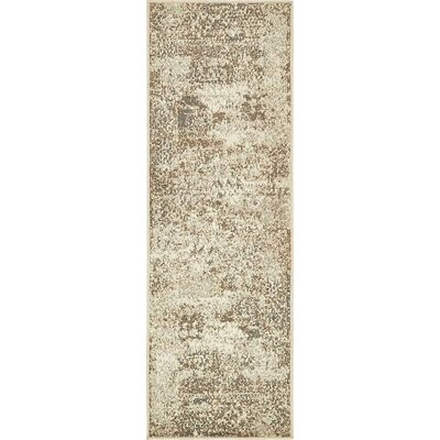 Forcalquier Cream Indoor Area Rug Rug Size: Runner 2 x 6