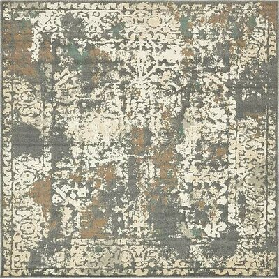 Forcalquier Area Rug Rug Size: Square 8