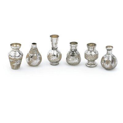 Silver/Gold Mercury Mini Bud Vase
