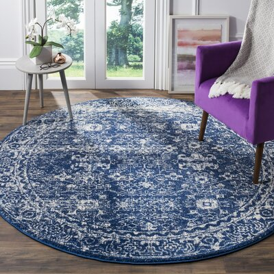 Esperance Blue/Beige Area Rug Rug Size: Rectangle 4 x 6