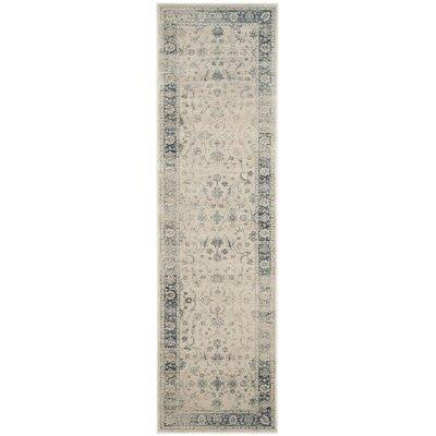 Malakoff Stone Area Rug Rug Size: Runner 22 x 8