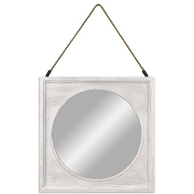 Wood Accent Mirror Finish: Whitewash