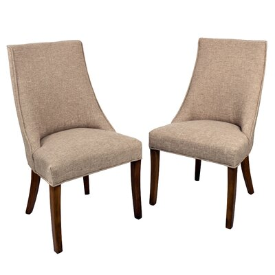 Pennock Side Chair Upholstery: Toasted