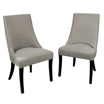 Pennock Side Chair Upholstery: Faded Gray