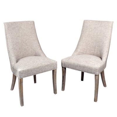 Pennock Side Chair Upholstery: Natural