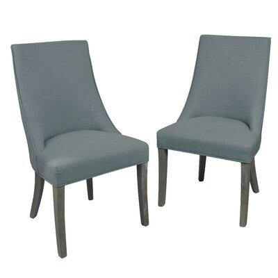 Pennock Side Chair Upholstery: Gray