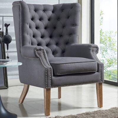 Lepore Linen Living Room Set Upholstery: Gray