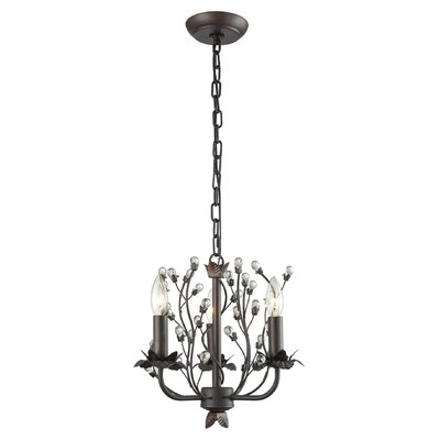 Charis�3-Light Candle-Style Chandelier
