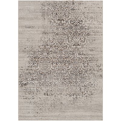 Chesler Dark Brown Area Rug Rug Size: 5 x 8