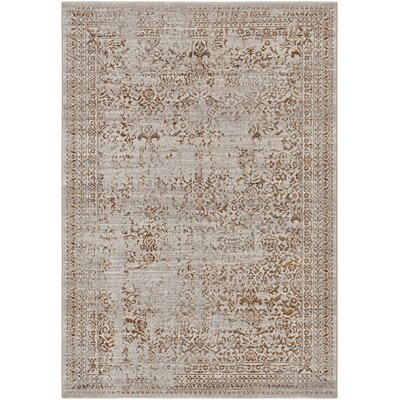 Chesler Burnt Orange Area Rug Rug Size: 2 x 3