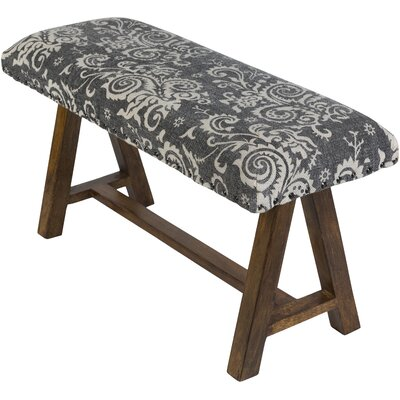 Penwell Upholstered Bedroom Bench Upholstery: Black