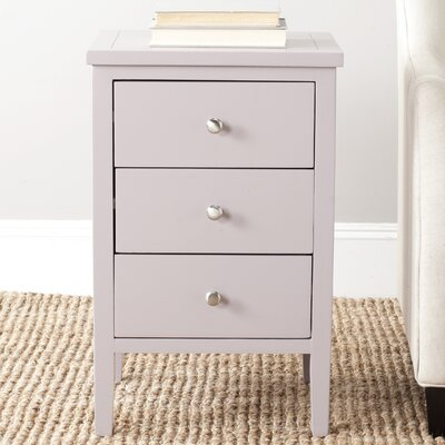 Tussilage End Table Finish: Quartz Gray