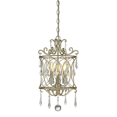 Orian 3-Light Crystal Chandelier