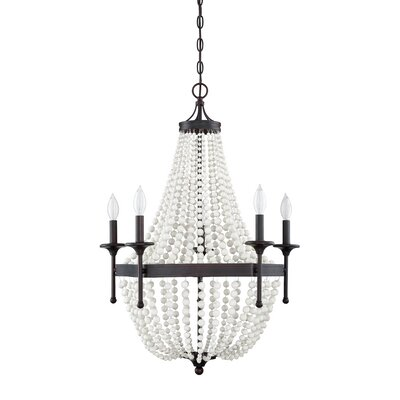 Burlington 5-Light Candle-Style Chandelier
