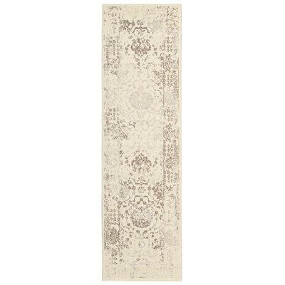 Orme Ivory Area Rug Rug Size: Runner 22 x 76