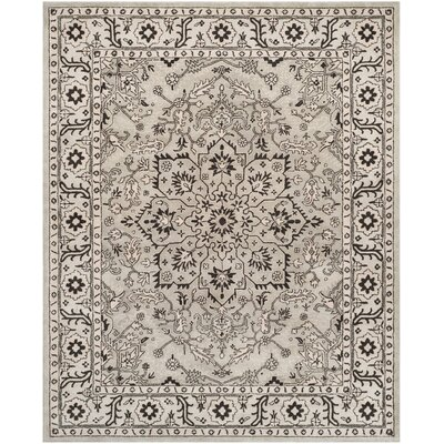 Albert Brook Hand-Tufted Gray/Beige Area Rug COLOR: Grey / Beige, Rug Size: 8' x 10'