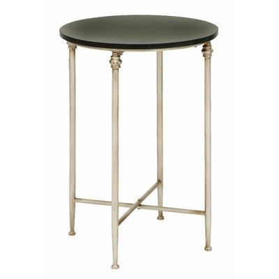 Eastchester End Table Color: Beige/Brown