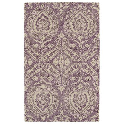 Crown Point Handmade Purple Indoor/Outdoor Area Rug Rug Size: 4 x 6