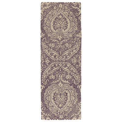 Crown Point Handmade Purple Indoor/Outdoor Area Rug Rug Size: Runner 2 x 6