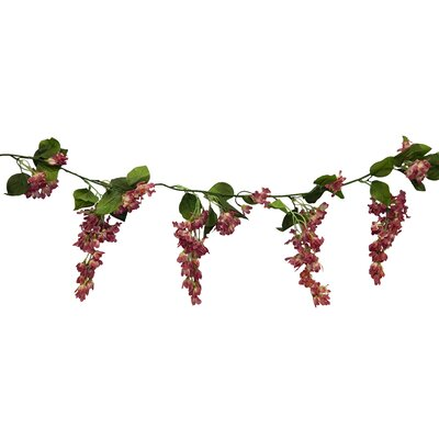 Streaming Wisteria Garland Flower Color: Mauve