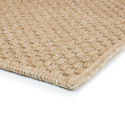 Orris Sand Indoor/Outdoor Area Rug Rug Size: Rectangle 37 x 56