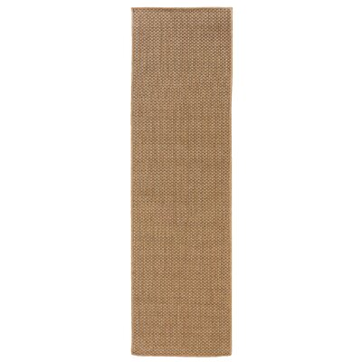 Orris Sand Indoor/Outdoor Area Rug Rug Size: Runner 23 x 76