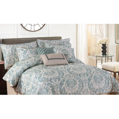 Ostlund 7 Piece Comforter Set Size: King