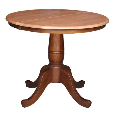 Overbay Extendable Dining Table Finish: Cinnamon / Espresso