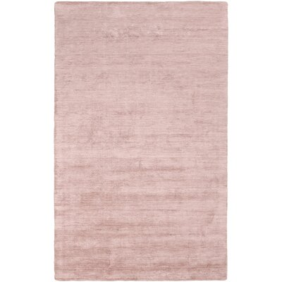 Oxendine Hand Woven Pastel Pink Area Rug Rug Size: Rectangle 5 x 8