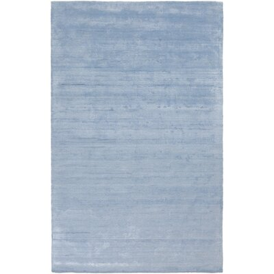 Oxendine Hand Woven Sky Blue Area Rug Rug Size: Rectangle 8 x 10